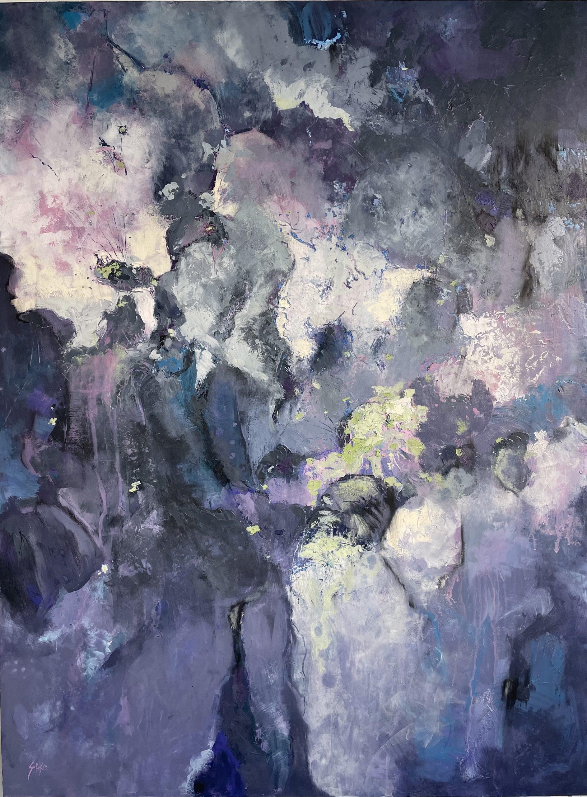 Karen Sako Oil painting illinois gallery