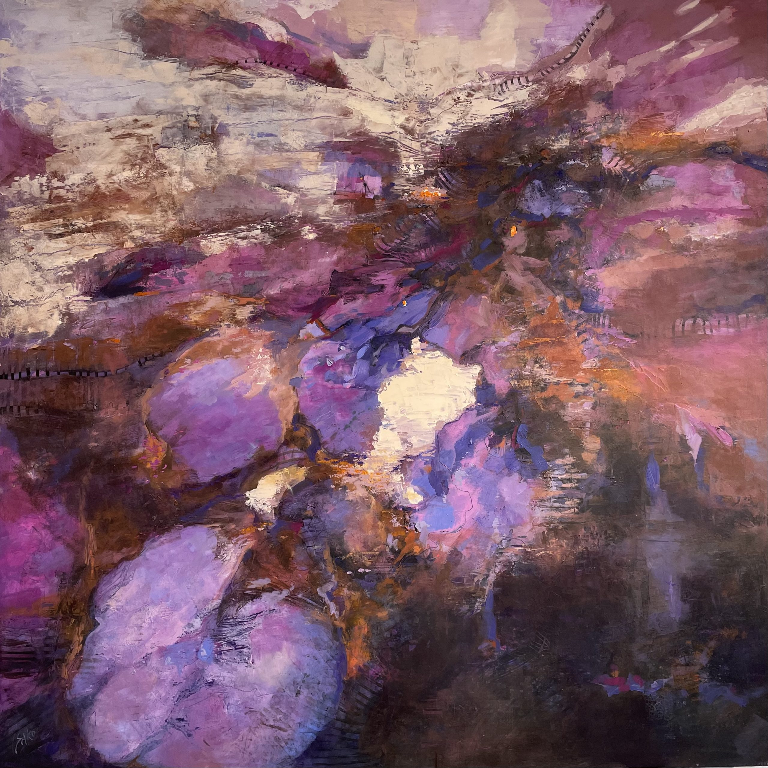 Karen Sako oil painting chicago gallery