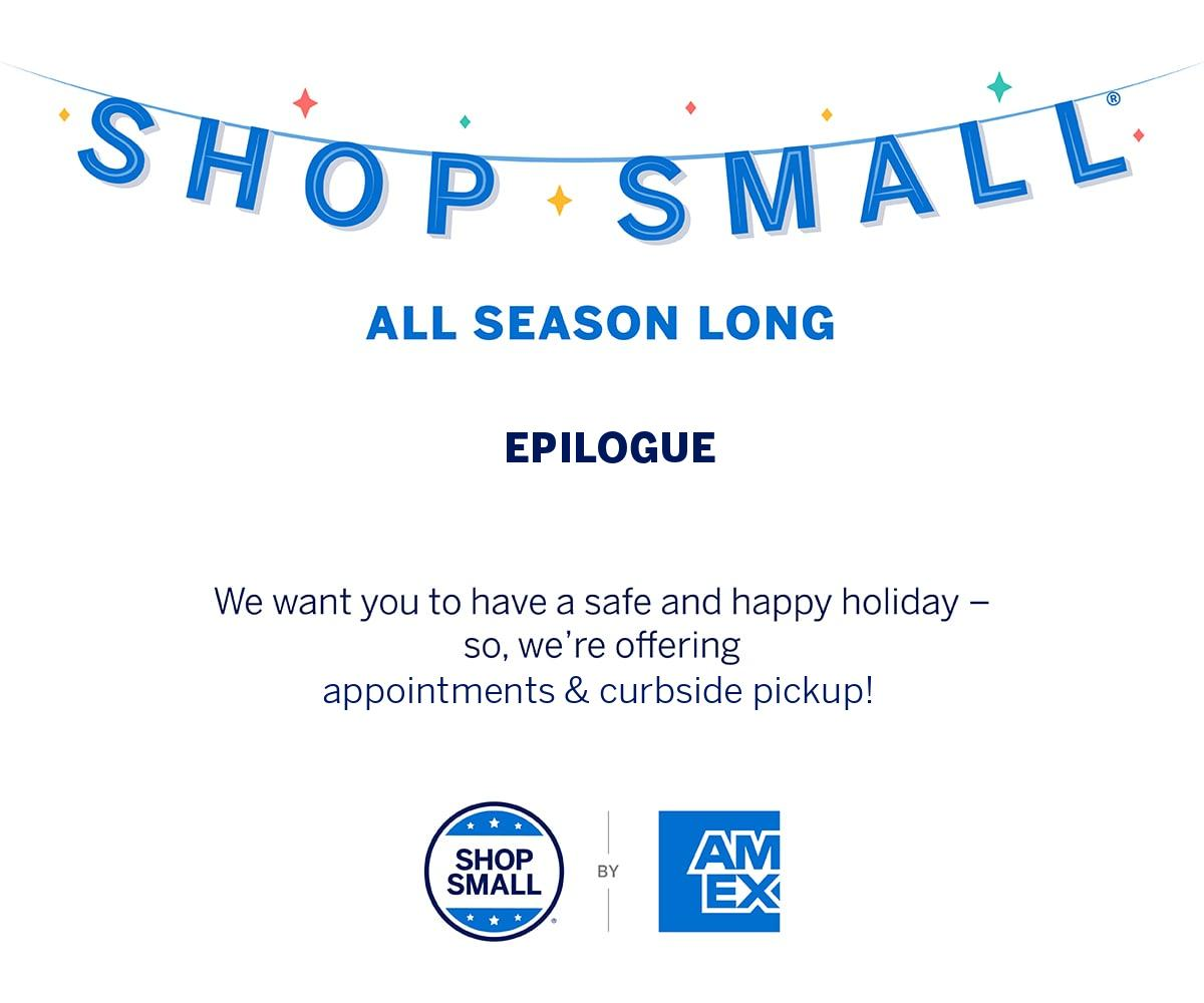 epilogue shop small business saturday gallery
